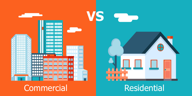 Investing in Residential or commercial properties. What is better?